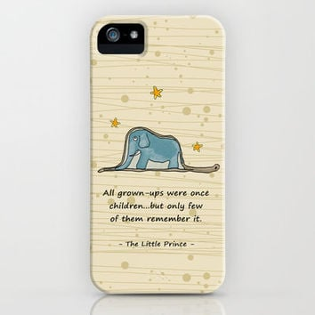 The Little Prince - Elephant inside Boa Constrictor iPhone & iPod Case by casehunter