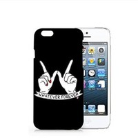 Whatever Forever Iphone 6 case, Iphone 6 Case Plastic Hard White Cover Skin Case (4.7'' Screen)-Quindyshop