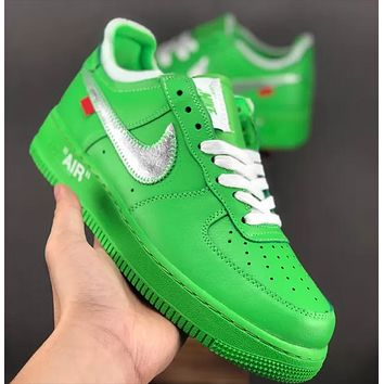 OFF-White x NIKE Air Force 1 OW Low-end Sneakers Shoes