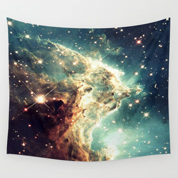 Nebula. Wall Tapestry by AngelNumbers
