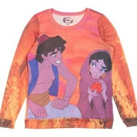 Disney Aladdin Street Rat Girls Pullover Top Size : Medium