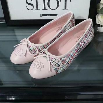 Chanel Summer Spring and Autumn Women Flats Fashion Boat Shoes Woman Casual Brand Single Shoes