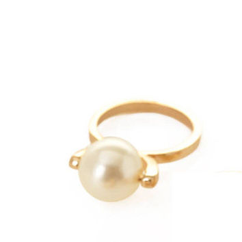 Shiny Stylish Jewelry Gift New Arrival Accessory Pearls Ring [4956919684]