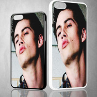 Dylan O'Brien kiss V0928 iPhone 4S 5S 5C 6 6Plus, iPod 4 5, LG G2 G3 Nexus 4 5, Sony Z2 Case