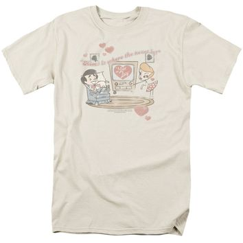 I Love Lucy - Home Is Where The Heart Is Short Sleeve Adult 18/1