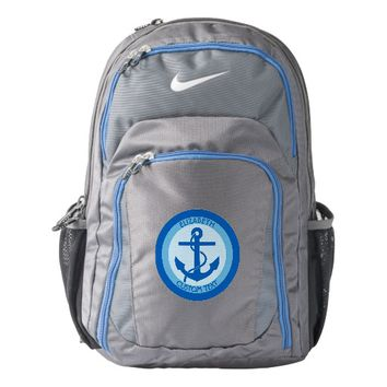 Blue Anchor Sailor Backpack
