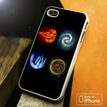 Avatar Last Airbender 4 Element iPhone 4(S),5(S),5C,SE,6(S),6(S) Plus Case
