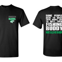 Fishing Grandpa T Shirt Mine Calls Me Uncle Shirt Grandpa Tee Fishing Shirt Grandpa Bass Shirt Favorite Grandfather Gift Grandparent shirt