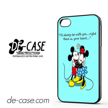 Mickey And Minnie Mouse Falling In Love DEAL-7182 Apple Phonecase Cover For Iphone 4 / Iphone 4S