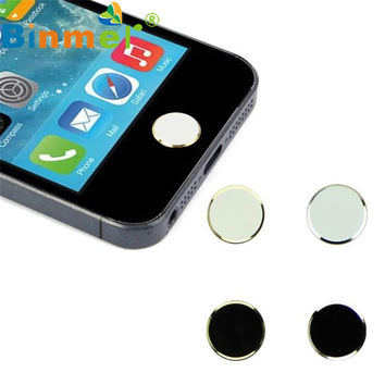 #AG 2Pcs Metal Home Button Keypad Sticker Key Post for iPhone N0105