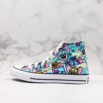 Converse Chuck Taylor 70s Hi-Top Tom & Jerry Canvas Sneakers - Best Deal Online