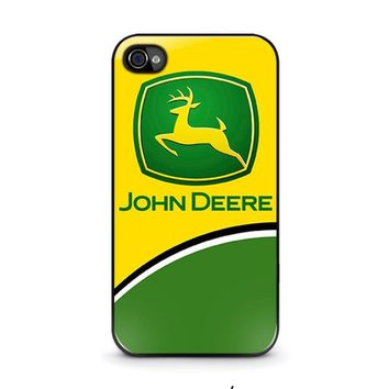 john deere 2 iphone 4 4s case cover  number 1