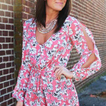 Top Of The Floral Romper