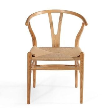 Rattan Seat Wooden Kitchen & Dining Room Chair
