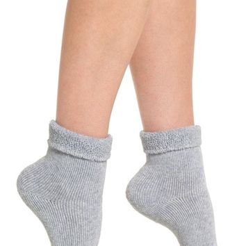Lemon Tip Toe Bora Shootie Socks | Nordstrom