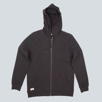 Throw On Hoodie (Black)
