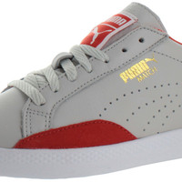 Puma Match Lo Women's Leather Court Sneakers Shoes
