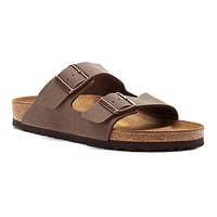 Birkenstock Arizona | Women's - Mocha Birkibuc - FREE SHIPPING at OnlineShoes.com