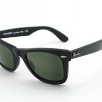 Ray ban Wayfarer RB2140 Sunglasses Black New In Box