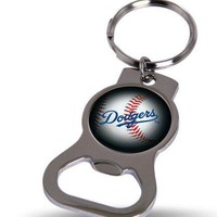 MLB Los Angeles Dodgers Bottle Opener Keychain FREE SHIPPING!