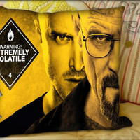Breaking Bad Bryan Cranston - Pillow Cover and Pillow Case.