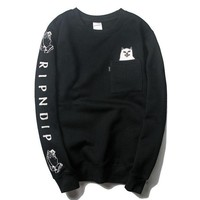 Pullover Winter Men Print Hoodies
