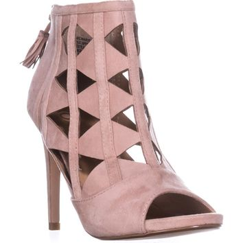 XOXO Charisma Dress Sandals, Mauve, 6.5 US / 37.5 EU