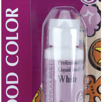 liquid food color 1 oz. - white
