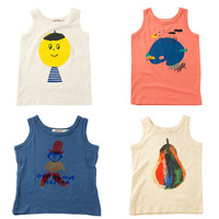 Bobo Choses Cotton Kids Print Tees