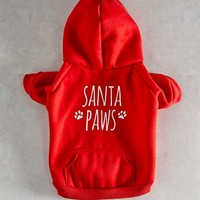 Happy Paws Dog Hoodie - Matalan
