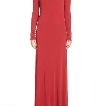 Vera Wang Jersey Gown   Nordstrom