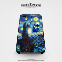 Dr Who Starry Night Tardis case for iPhone, iPod, Samsung Galaxy, HTC One, Nexus