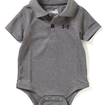Under Armour Baby Boys Newborn-12 Months Solid Polo Short-Sleeve Bodysuit | Dillards