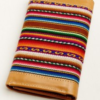 Serape and Cognac Wallet