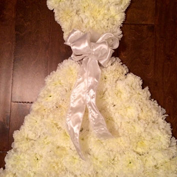 Wedding Dress/Bridal Gown Shower Decoration, Door Hanger, Wreath, Wedding Decoration