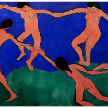 Henri Matisse The Dance Art Poster 11x17