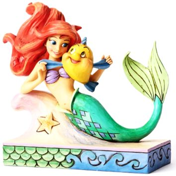 Disney Ariel with Flounder
