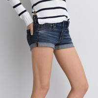 AEO Denim X4 Rolled Denim Shortie