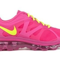 Nike Air Max+ 2012 (GS) Girls Running Shoes 488124-601