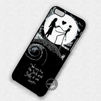 Eternal Couple Jack & Sally - iPhone 7 6 Plus 5c 5s SE Cases & Covers