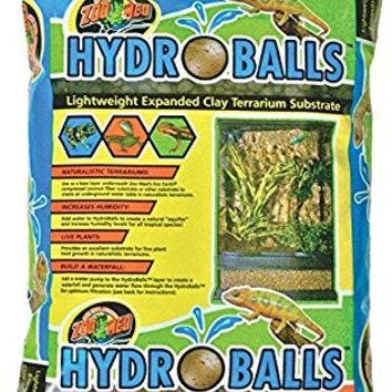 HydroBalls Lightweight Expanded Clay Terrarium Substrate, 2.5 Pounds