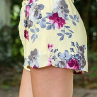 Full Bloom Shorts (set)