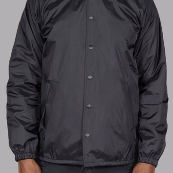 Phil Coaches Jacket (Black)