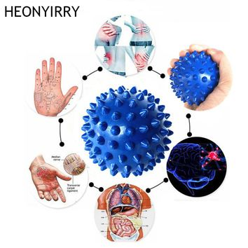 Durable PVC Spiky Massage Ball Trigger Point Sport Fitness Hand Foot Pain Relief Gym Fitness Balls Equipments Yoga Ball