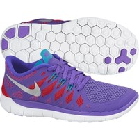 Nike Girls' Grade School Free 5.0 Running Shoe - Purple/Red/Green | DICK'S Sporting Goods