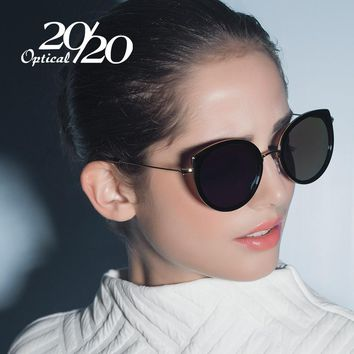 20/20 Brand Vintage Woman Polarized Sunglasses Classic Shades Glasses for Woman With Box Eyewear Feminino Gafas 7056