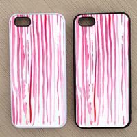 Cute Abstract Striped iPhone Case, iPhone 5 Case, iPhone 4S Case, iPhone 4 Case - SKU: 183
