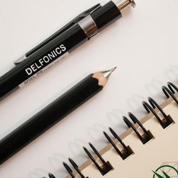 DELFONICS Mechanical Pencil Black