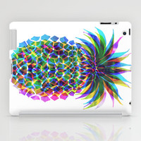 Pineapple CMYK iPad Case by Schatzi Brown