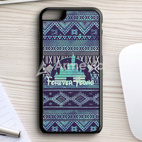 Forever Young Disney Aztec Pattern iPhone 7 Plus Case | armeyla.com